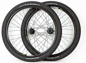 27.5 inch Mavic Shimano Mountain Bike ATB Wheels Disc Brake Black Wheel Set With Continental Race King Tires and Tubes
