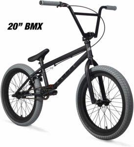 Elite BMX Bicycle Destro Model Freestyle Bike - 4 Piece Cr-MO Handlebar