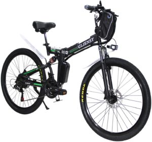 CLIENSY 26 Inch Electric Bike
