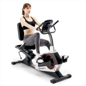 Marcy Regenerating Recumbent Exercise Bike