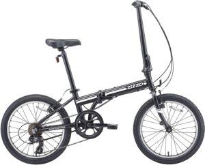 EuroMini ZiZZO Heavy Duty-300 lb. Load Limit - Forte 29 lbs Folding Bike