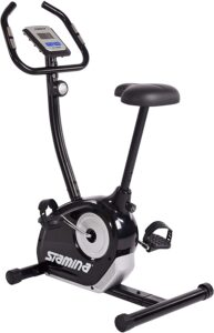 Stamina Wonder Exercise Bike | Build Upper and Lower Body Strength on One Machine | Includes Two Online Workout Videos, Chartreuse and Gray
