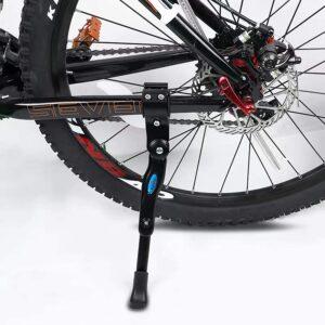 "Bike Kickstand Adults- Adjustable Rear Side Bicycle Stand Kickstand Fit for 22"" 24"" 26"" 28"" Bike Kick Stand"