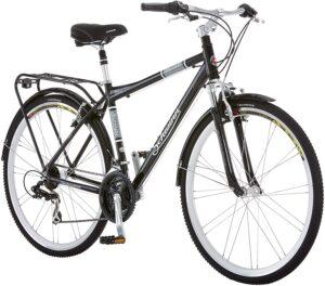 Schwinn Discover Hybrid Bike for Men and Women, 21-Speed, 28-Inch Wheels, Multiple Colors