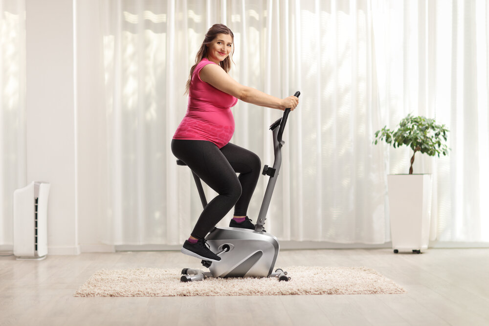 BENEFITS OF CYCLING DURING PREGNANCY