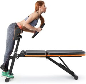 PERLECARE Adjustable Weight Bench for Full Body Workout