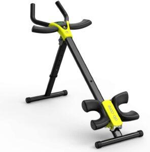 leikefitness Height Adjustable Ab Trainer Abdominal Whole Body Workout Machine